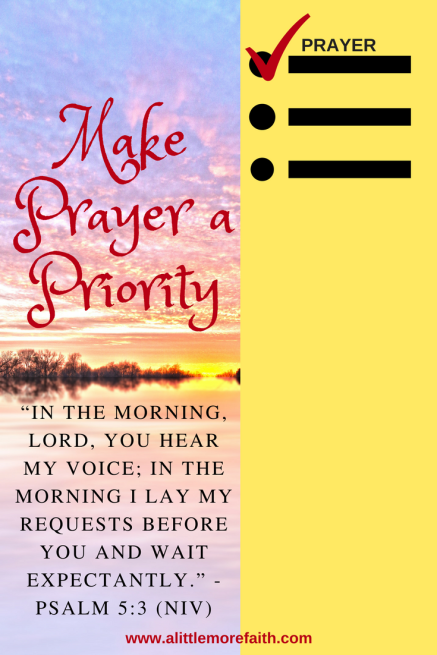 Make Prayer a Priority (1)