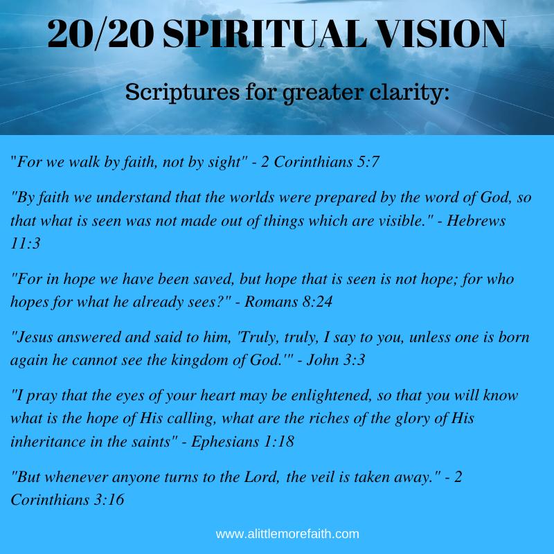 20_20 SPIRITUAL VISION